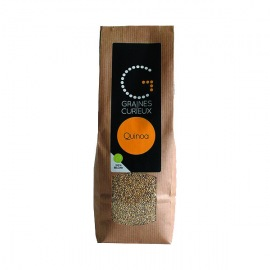 Quinoa bio belge - Graines de curieux