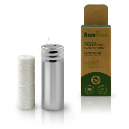 Fil dentaire rechargeable - Bambaw