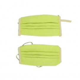 Lot de 2 masques en lin - Bag To Green
