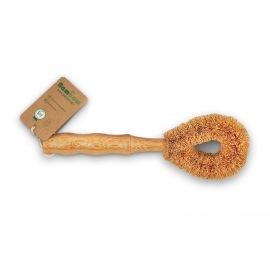 Brosse à vaisselle en coco - Bambaw