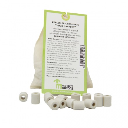 Perles céramique - Les Verts Mouton